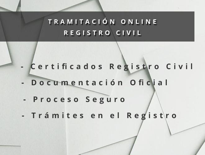 Certificado Nacimiento ✅ Registro Civil